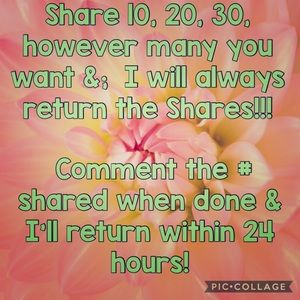 shares for shares !!!